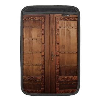 Wooden Doors MacBook Sleeves