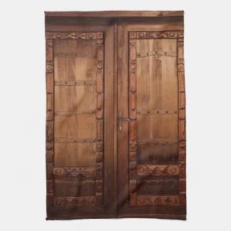 Wooden Doors Kitchen Towel