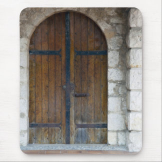 Wooden Doors Mouse Pad