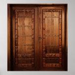 Wooden Doors Print