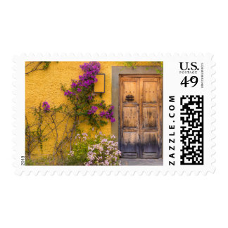 Wooden doorway postage