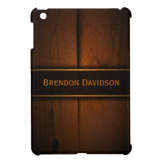 Wooden Faux Baltic Pine Wood Custom iPad Mini Case