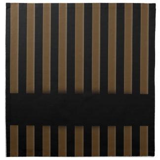 Wooden fence background napkin