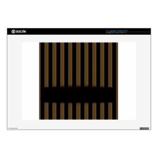 Wooden fence background skins for laptops