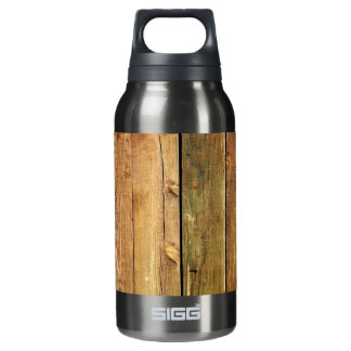 Wooden Fence Insulated Water Bottle