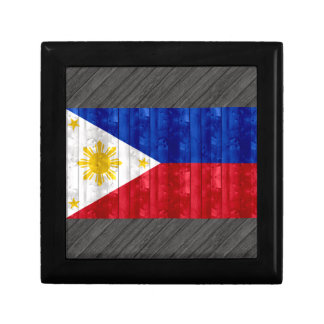 Wooden Filipino Flag Gift Boxes