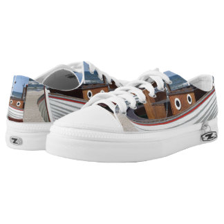 Sandy canvas shoes printed shoes zazzle for Fishing shoes for the boat