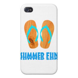 Wooden Flip Flops iPhone 4/4S Cover
