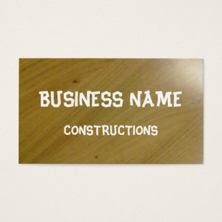 Wooden Floor Business Card