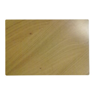 Wooden Floor Laminated Place Mat