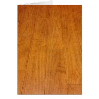 Wooden Floor Parquetry Parquet Laminate Brown Card