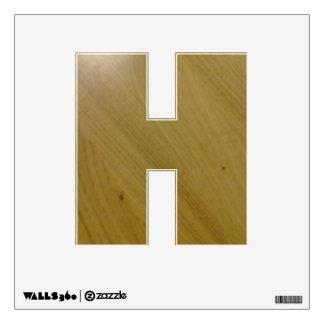 Wooden Floor Wall Skins