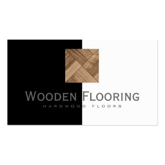 Wooden Flooring/Hardwood Floors Cool Card Double-Sided Standard Business Cards (Pack Of 100)