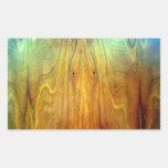 wooden furniture interior design texture rectangular sticker
