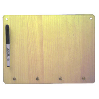 Wooden furniture with various shades of yellow Dry-Erase board