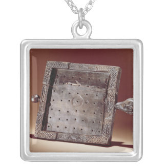 Wooden gaming board, Ballinderry, County Silver Plated Necklace