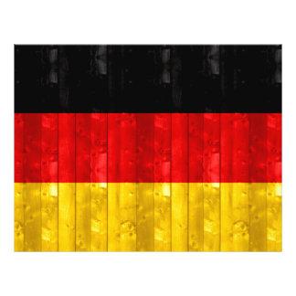 Wooden German Flag Flyers