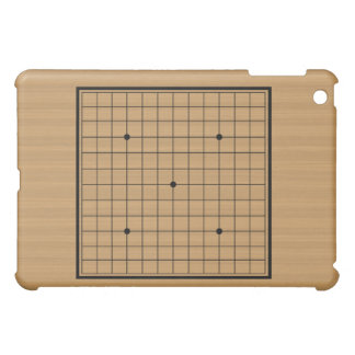 Wooden Go Board 13x13 Bordered Cover For The iPad Mini