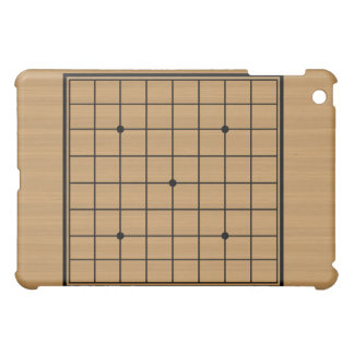 Wooden Go Board 9x9 Bordered iPad Mini Cover