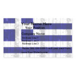 Wooden Greek Flag Double-Sided Standard Business Cards (Pack Of 100)