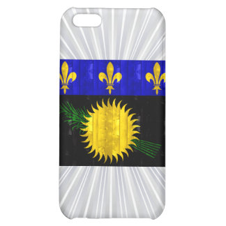Wooden Guadeloupean Flag Case For iPhone 5C