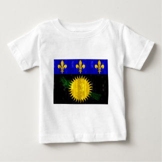 Wooden Guadeloupean Flag Tshirts