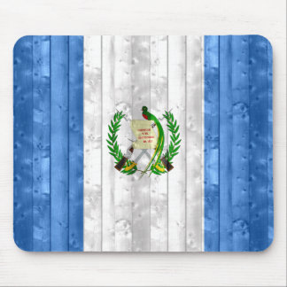 Wooden Guatemalan Flag Mouse Pad