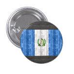 Wooden Guatemalan Flag Pinback Buttons