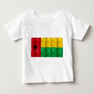 Wooden Guinean Flag Baby T-Shirt