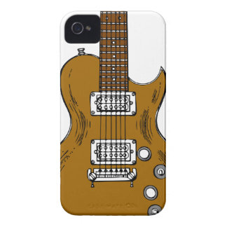 Wooden Guitar iPhone 4 Cover