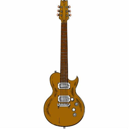 Wooden Guitar Cutout Zazzle