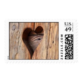 wooden Heart Stamp