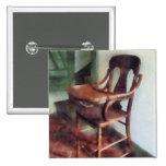 Wooden High Chair Button