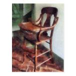 Wooden High Chair Postcard