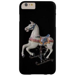 Wooden Horse Antique Carousel B Iphone Case