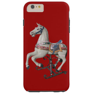 Wooden Horse Antique Carousel - Iphone Case