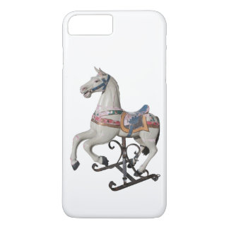 Wooden Horse Antique Carousel W iPhone Case