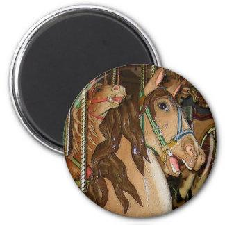 wooden Horse Magnet