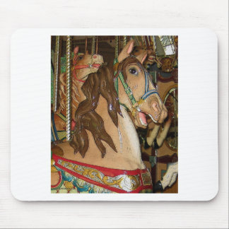wooden Horse Mouse Pad