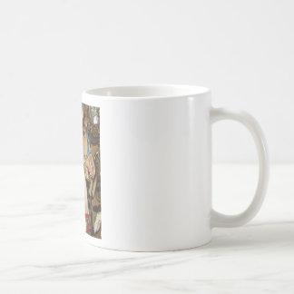 wooden Horse Classic White Coffee Mug
