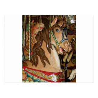 wooden Horse Postcard