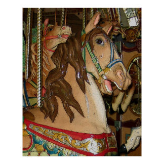 Wooden Horse Poster