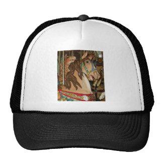 wooden Horse Trucker Hat