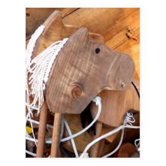 Wooden Horsey Postcard