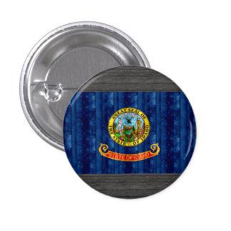 Wooden Idahoan Flag Pins