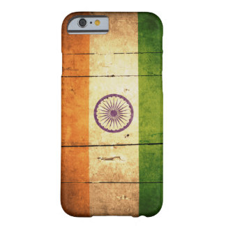 Wooden Indian Flag Barely There iPhone 6 Case