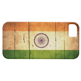 Wooden Indian Flag iPhone 5 Case