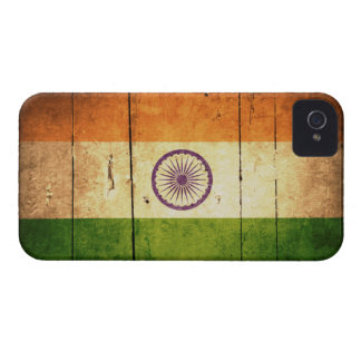 Wooden Indian Flag Case-Mate iPhone 4 Case