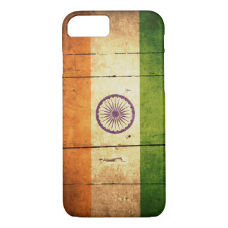 Wooden Indian Flag iPhone 8/7 Case