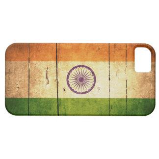 Wooden Indian Flag iPhone SE/5/5s Case